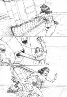 Wonder Woman vs Tank 03 by RPL-Arts