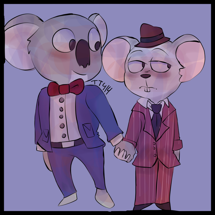 Buster Moon and Mike - Requests by tt414