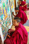 Hommage a Tibetan painters 2