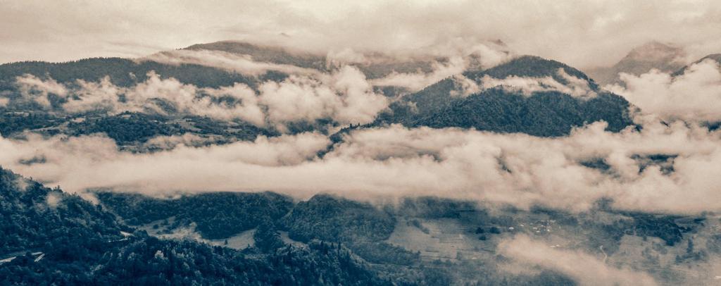 Caucasus IX (Gudauri panorama) by Borymir