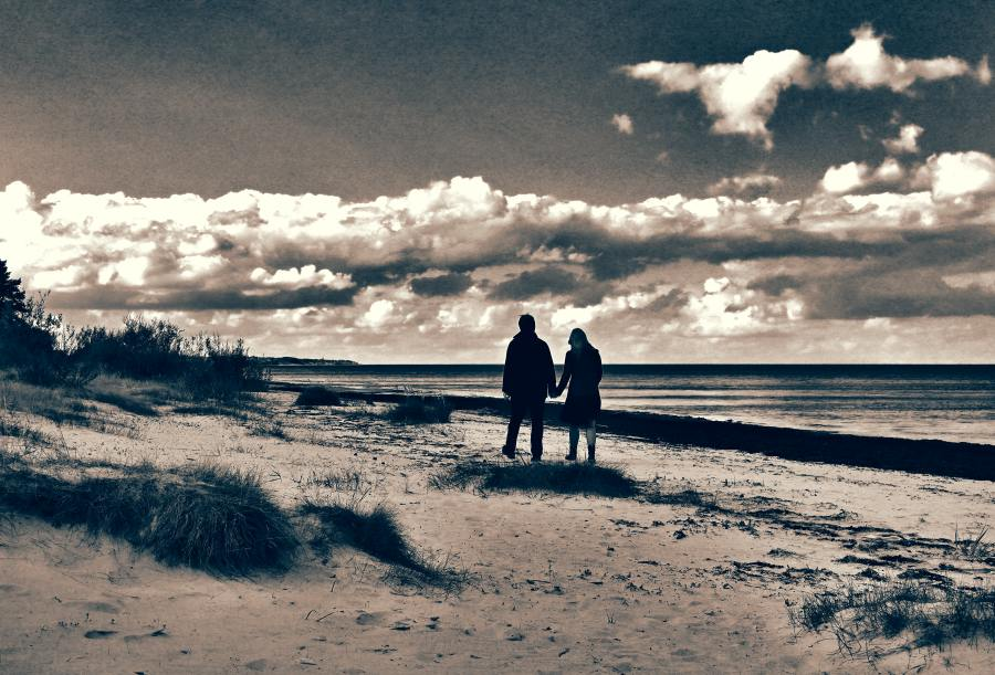 Baltic, late September by Borymir