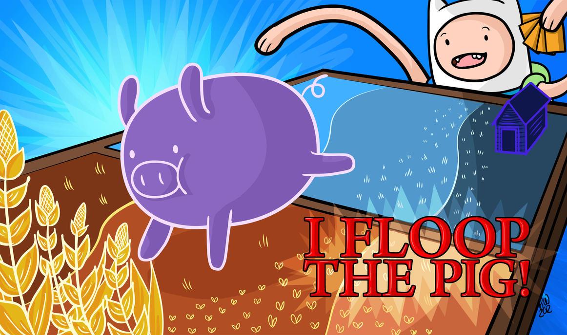 Image result for floop the pig