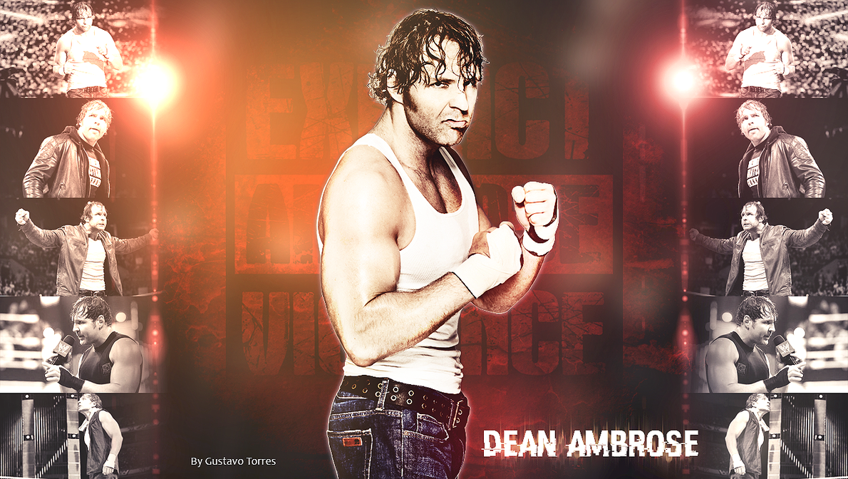 Dean Ambrose Wallpaper 1360 X 768 By GustavoTorres
