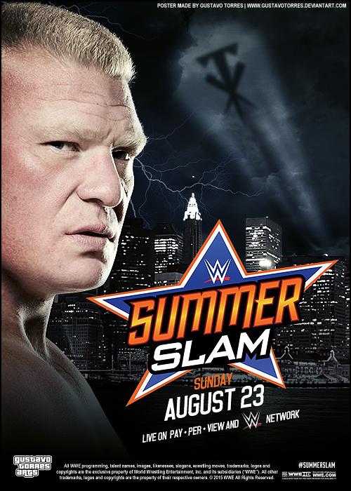 WWE Summerslam 2015 Full Show