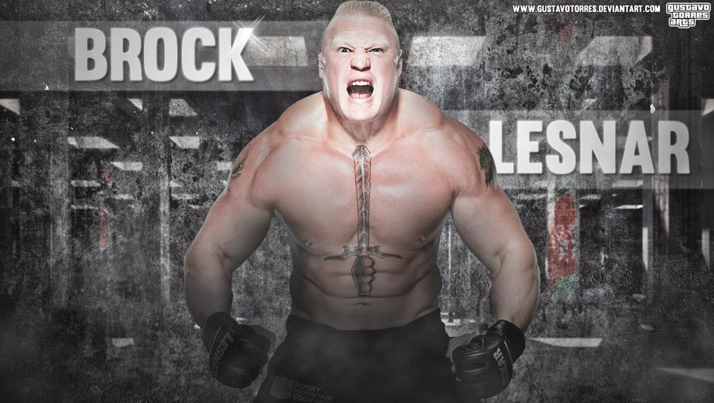 Brock Lesnar Wallpaper 1360x768 By GustavoTorres