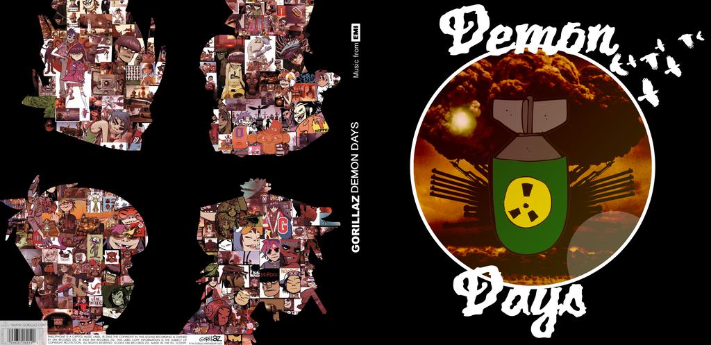 Demon Days Album by Zae9000