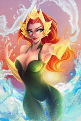 The Queen of Atlantis by JELLYEMILY