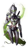 Overwatch - Female Genji
