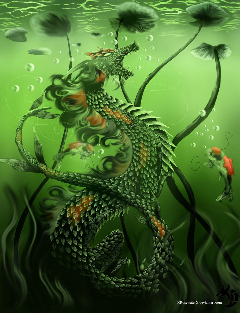 Love from the Dragon Cave .... pictures of our home ... and friends - Page 14 Koi_fish_fantasy_by_xrosewaterx-d63eutt