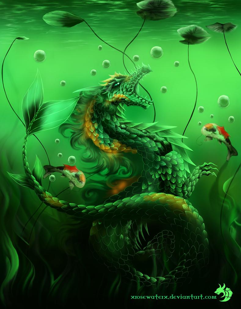 3 koi fish by xrosewaterx on deviantart for Dragon koi fish