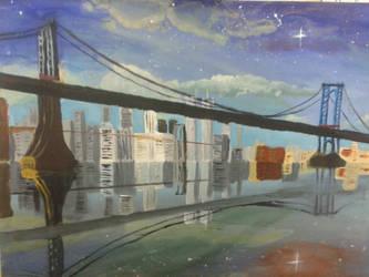 New York's Fantasy Sky by orriwho