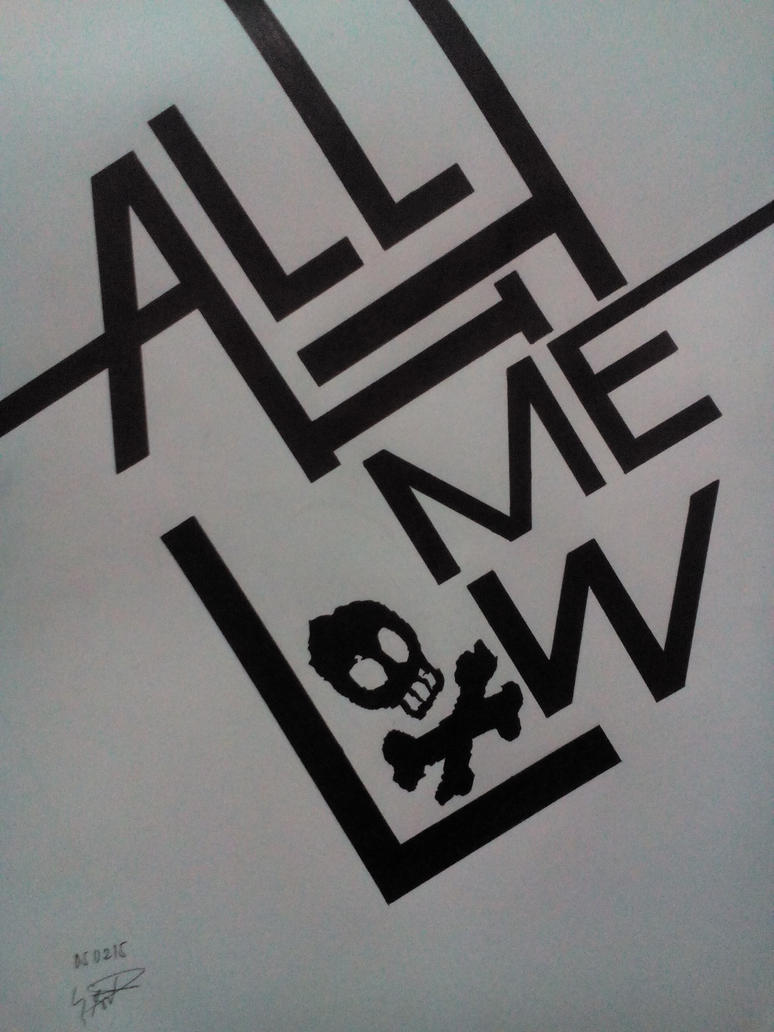 All Time Low Typography by iatesantaforlunch