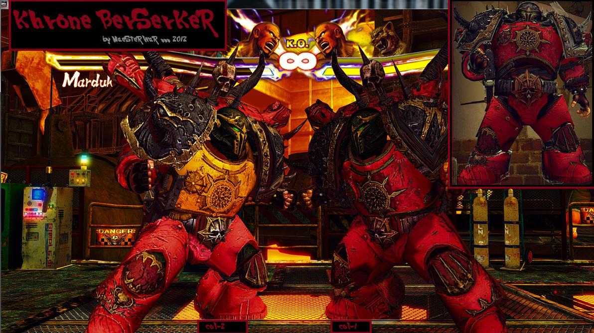 Marduk- Warhammer 40K Khrone Berzerker Final D/L by MaesterLee