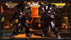 Zangief as Grunt from Mass Effect