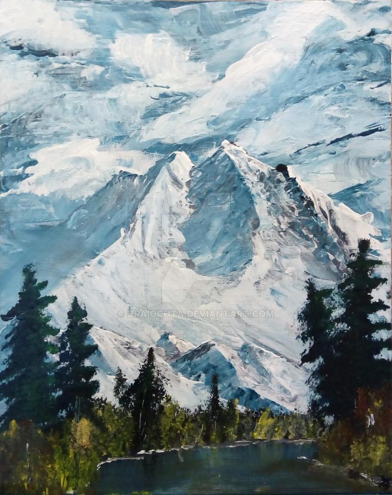 002. Bob Ross S01A02 Mt. Kinley by Draiochta