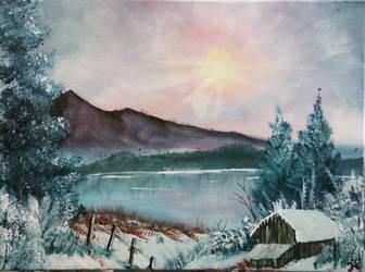 011. Winter Glow by Draiochta