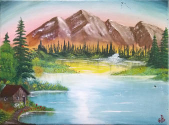 013. Mountain Retreat by Draiochta