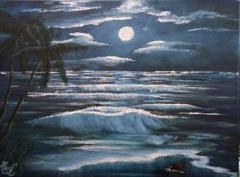 014. Blue Moon by Draiochta