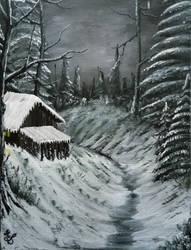 016. Winter Night by Draiochta