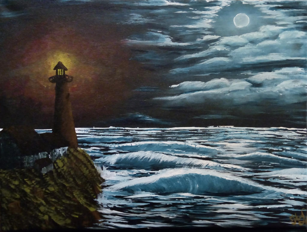 020. Night Light 01 by Draiochta