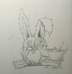 Stressed Out BunnyRabbit by Draiochta