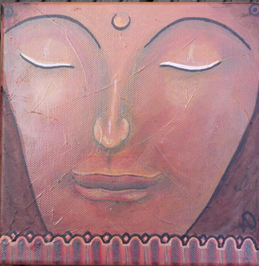 Buddhaserie 002 by annediez