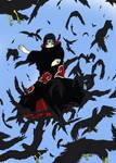 flock of crows Itachi