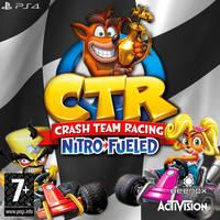 Crash Team Racing Nitro Fueled  PS4 COVER