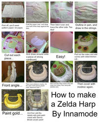 Cosplay Tutorial: How to make a Zelda Harp by Innamode