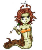 Little Medusa Queen by Miryoku-Mir