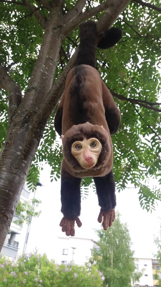 Pablo the Posable Monkey OOAK Artdoll