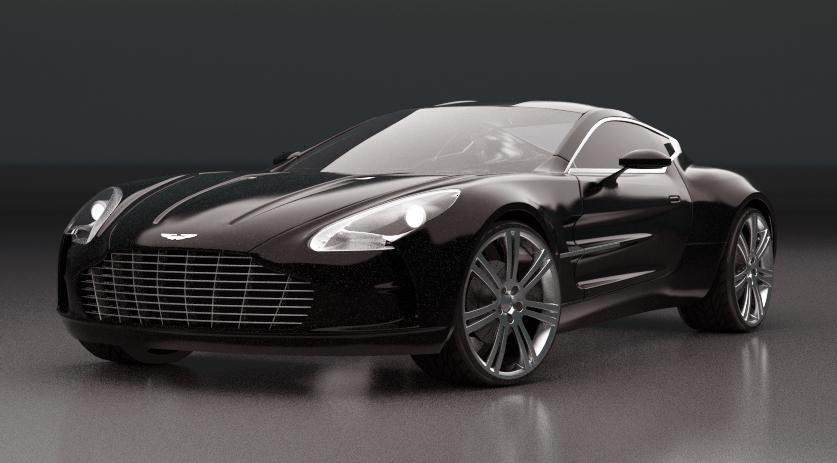 Aston Martin One 77 WIP