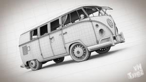 VW Combi Split by pierre-allard