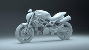 Ducati Monster 696 WIP 2