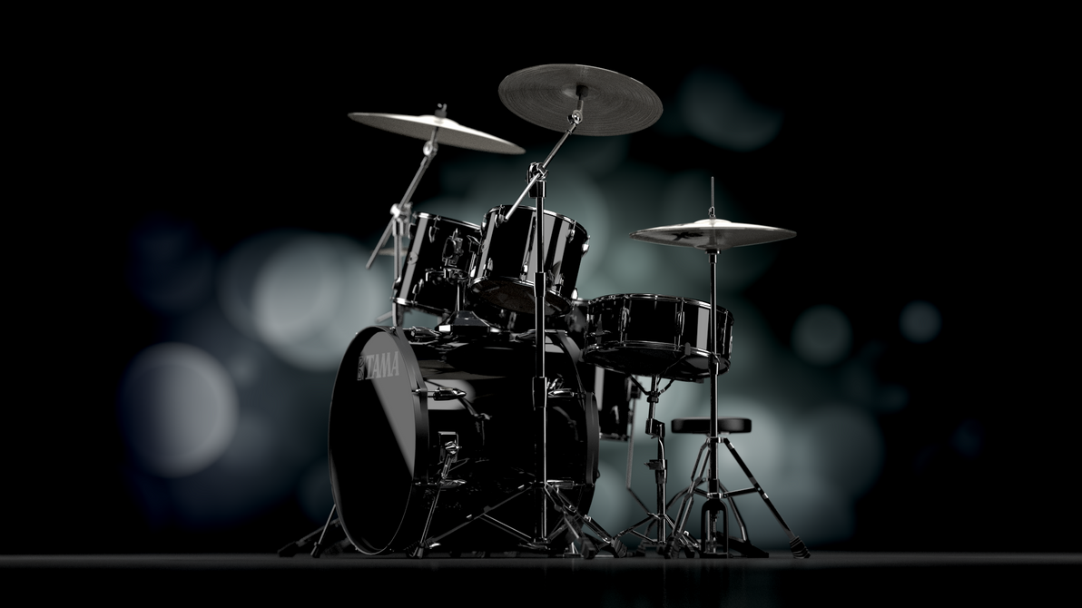Drum Tama Imperialstar Black by pierre-allard