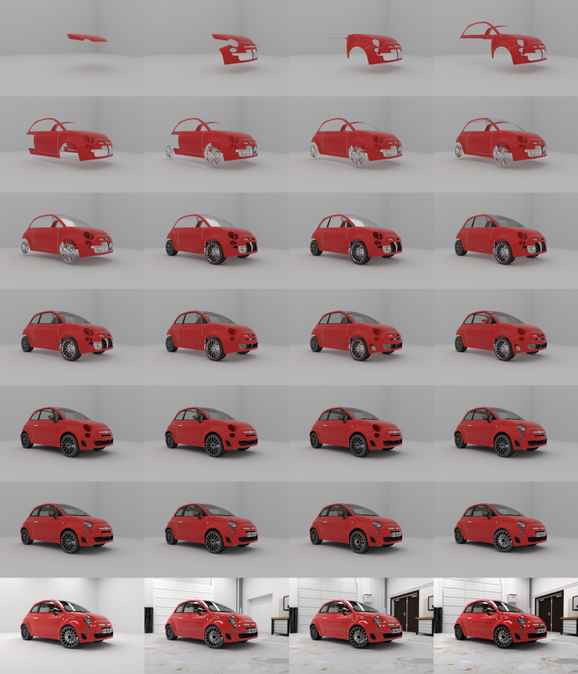 Fiat 500 Abarth by pierre-allard