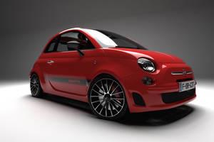 Fiat 500 Abarth 3D Studio by pierre-allard