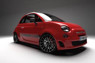 Fiat 500 Abarth 3D Studio
