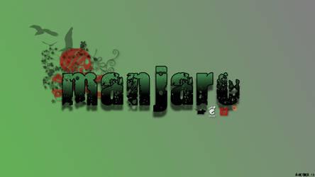 Manjaro Linux wall