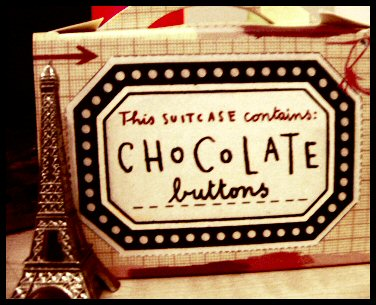 Cute chocolate box