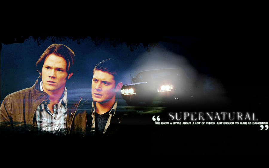 supernatural wallpapers. Supernatural - Wallpaper 3 by