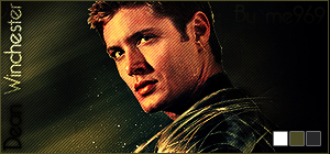 Dean Winchester - Signature 3 by me969