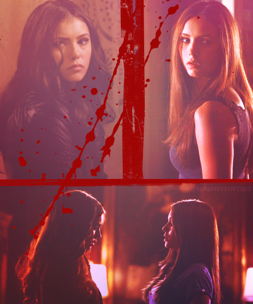 Elena And Katherine - TVD by me969