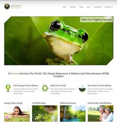 Go Green - Modern Business HTM