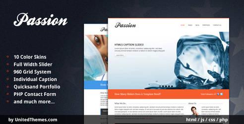 Passion - Modern Portfolio HTM by UnitedThemes