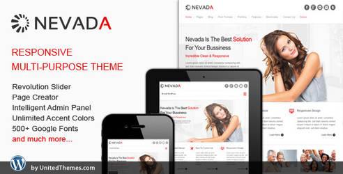 Nevada - Responsive Multi-Purpose Theme