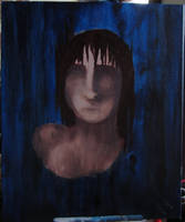 blue selfportrait stage 3 by pommefritz