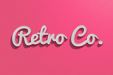 Free Vintage Text Effect by Graphicdome