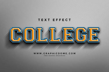 Free Text Effect by Graphicdome