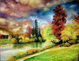 Autumn in Park by sorinapostolescu